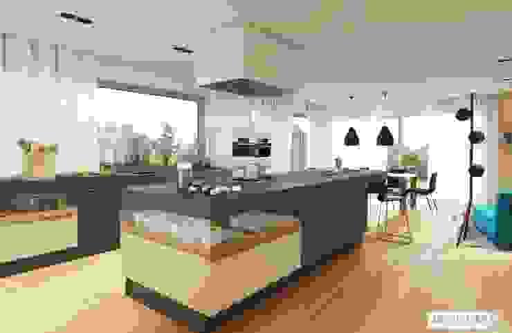 Kitchen by Pracownia Projektowa ARCHIPELAG,
