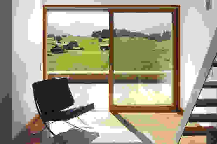 Modern Koridor, Hol & Merdivenler Carlos Zwick Architekten Modern