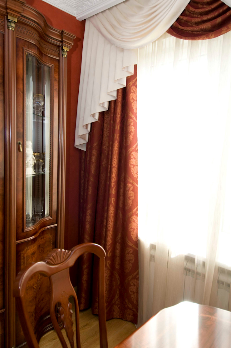 Коттедж классический в Благодатово. от Елена Кокшарова Eldesign74 Классический