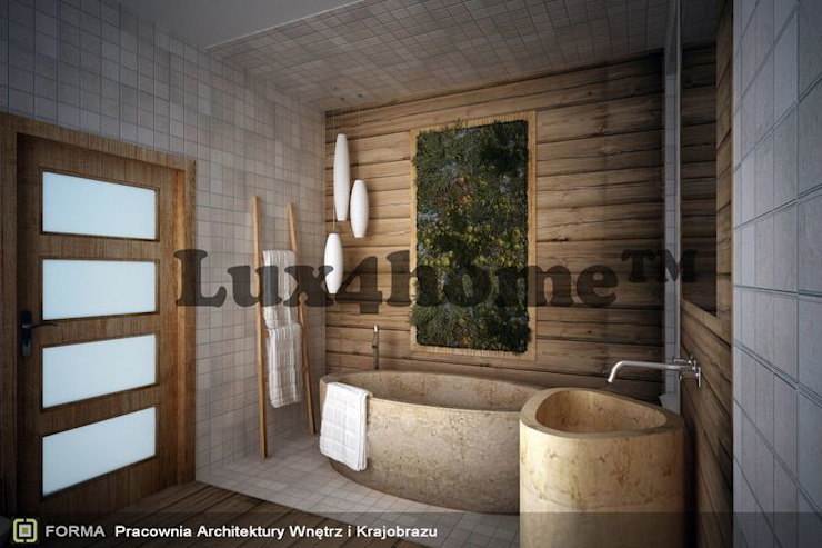 Bathroom ideas - Beige Pebbles mosaic manufacturer / producer & Exporter Asian style bathroom by homify Asian