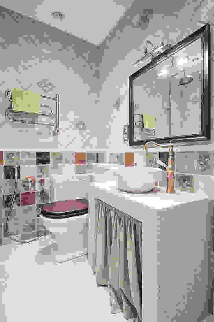 Квартира на Войковской Pakers Ванная комната в стиле кантри от ДизайновТочкаРу Кантри