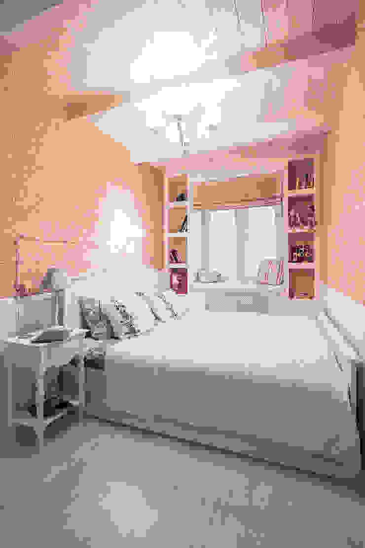 Квартира на Войковской Pakers Спальня в стиле кантри от ДизайновТочкаРу Кантри