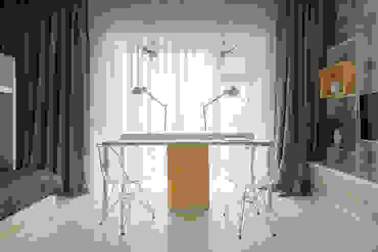 Квартира в ЖК Дубровская Слобода Детская комнатa в стиле минимализм от ДизайновТочкаРу Минимализм