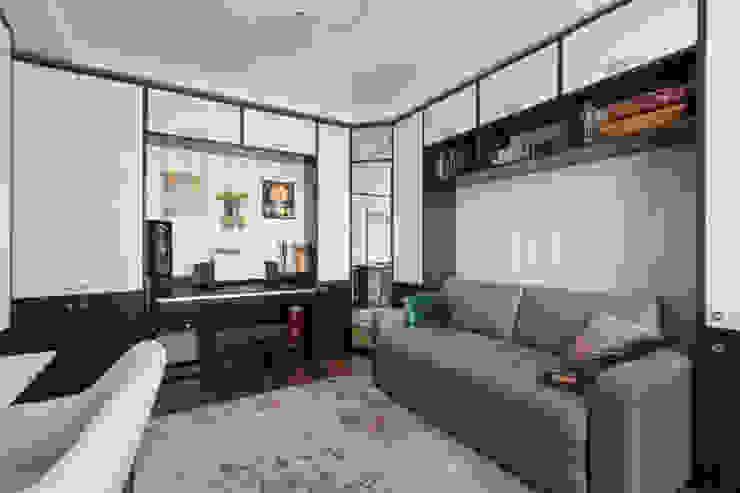 Квартира в Балашихе Рабочий кабинет в стиле минимализм от ДизайновТочкаРу Минимализм