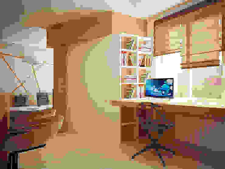 Modern study/office by Vera Rybchenko Modern