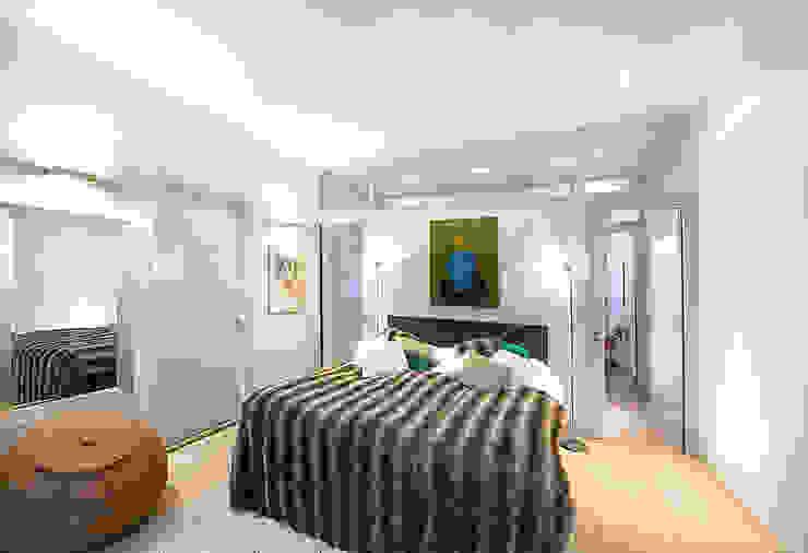 Prins Hendrikstraat Moderne slaapkamers van De Werff Architectuur Modern