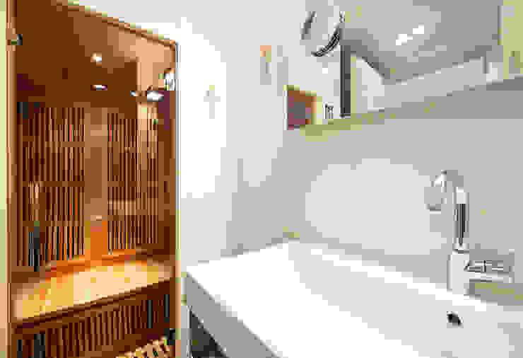 Prins Hendrikstraat:  Badkamer door De Werff Architectuur,