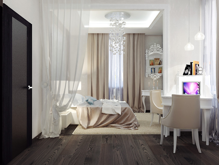 Chambre de style  par Vera Rybchenko, Classique