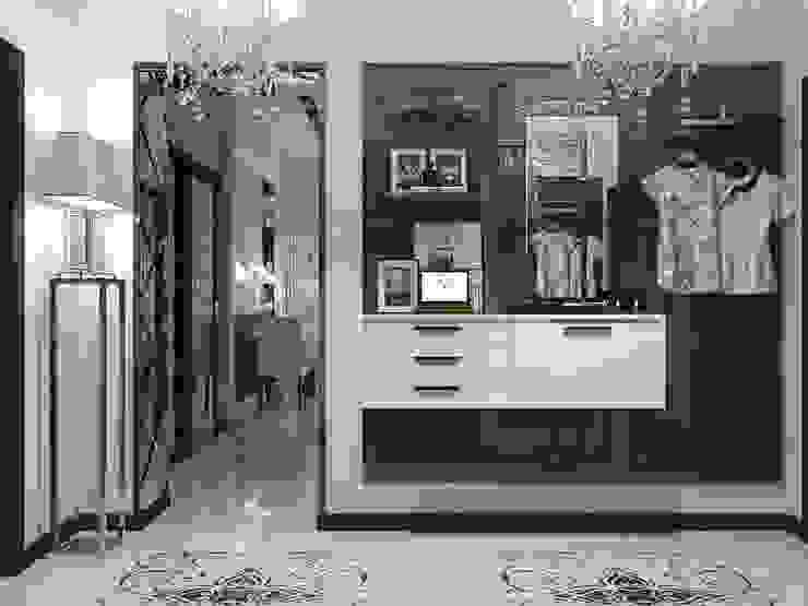 Classic style corridor, hallway and stairs by Vera Rybchenko Classic
