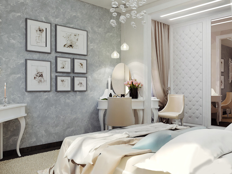 Classic style bedroom by Vera Rybchenko Classic
