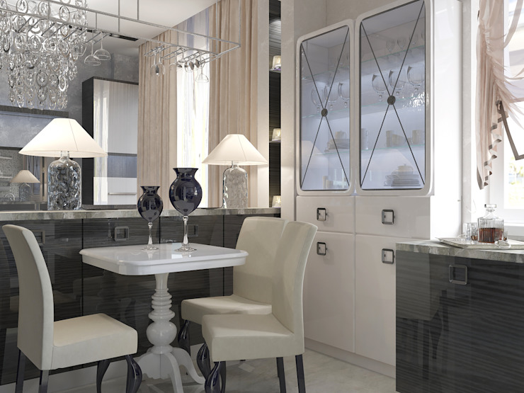 Classic style dining room by Vera Rybchenko Classic