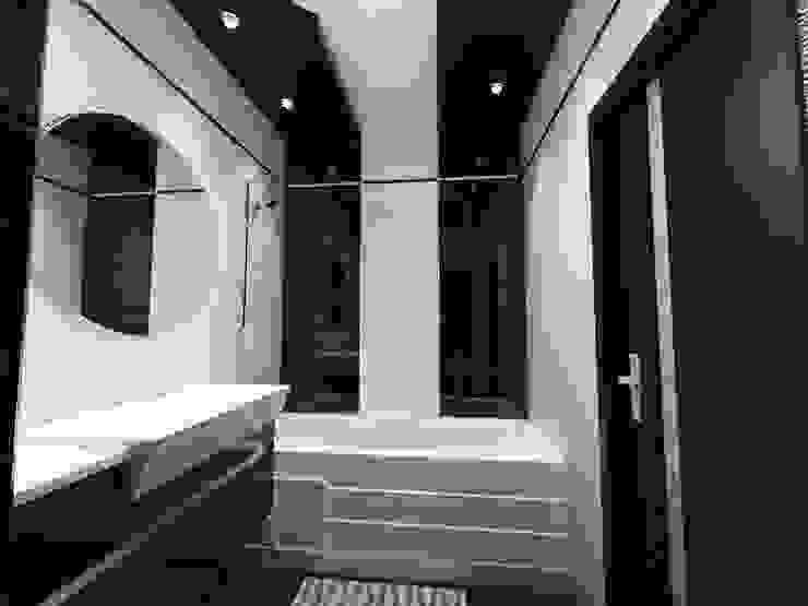 КВАРТИРА. ВОЛНА Ванная комната в стиле модерн от Vera Rybchenko Модерн