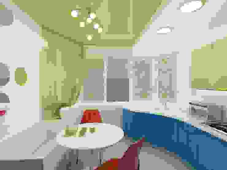 КВАРТИРА. ВОЛНА Кухня в стиле модерн от Vera Rybchenko Модерн