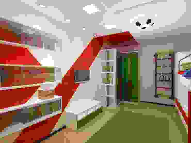 КВАРТИРА. ВОЛНА Детская комната в стиле модерн от Vera Rybchenko Модерн