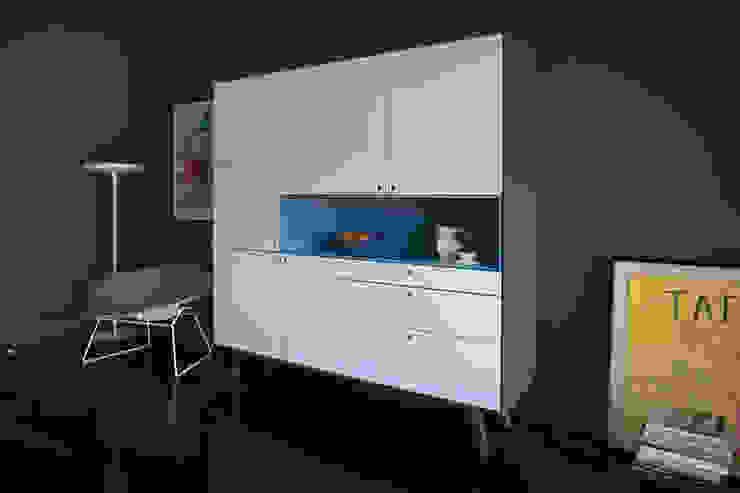 Projekty,  Salon zaprojektowane przez MO-OW design .  ângela frias e gonçalo dias arquitectos lda, Minimalistyczny