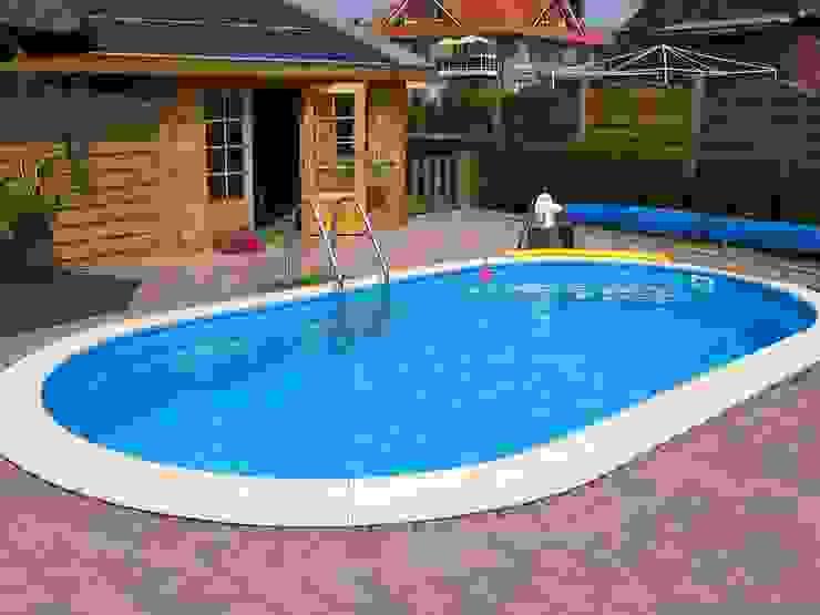 Stahlwandbecken Toscana Klassische Pools von hobby pool technologies GmbH Klassisch