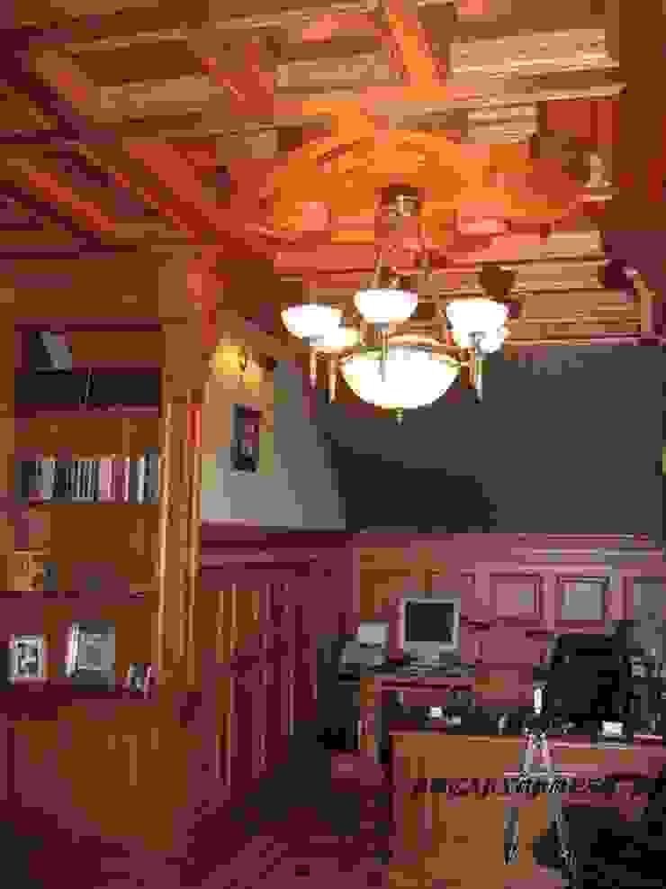 Кессонный потолок и буазери в кабинете Росархпроект.ру Рабочий кабинет Аксессуары и декор