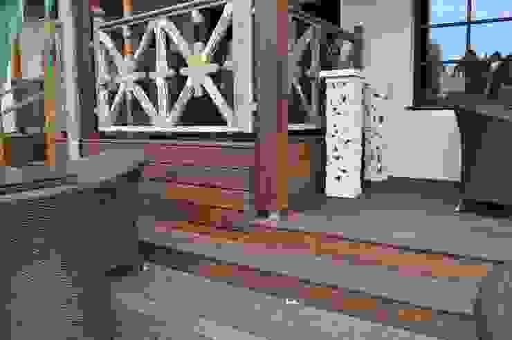 Terrasse Spa Berlin Asiatische Bars & Clubs von Bambus Komfort Parkett Asiatisch