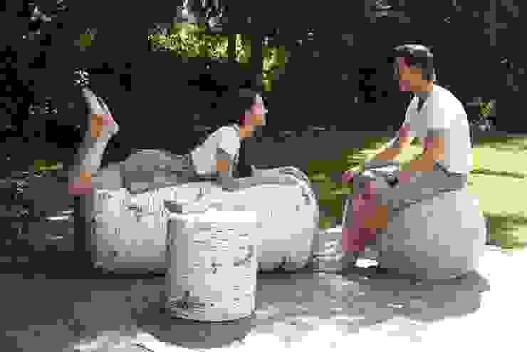 Pufy leśne indoor i outdoor od HEDO design Skandynawski