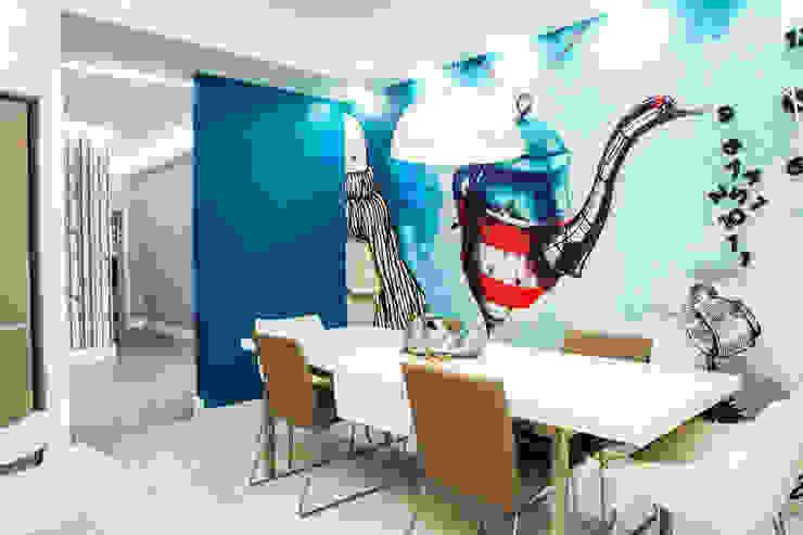 Обеденная группа в столовой Столовая комната в скандинавском стиле от Nika Loiko Design Скандинавский