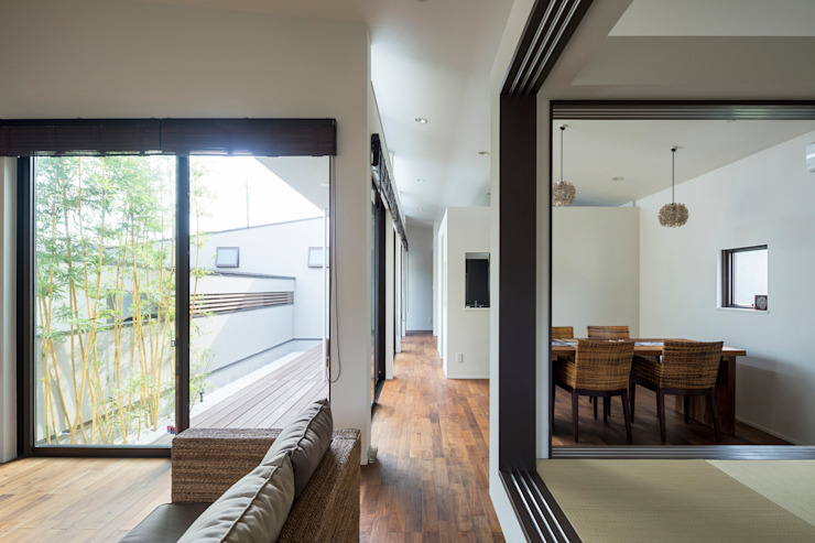 シャコニワ/Shako-niwa アジア風 庭 の W.D.A 和風