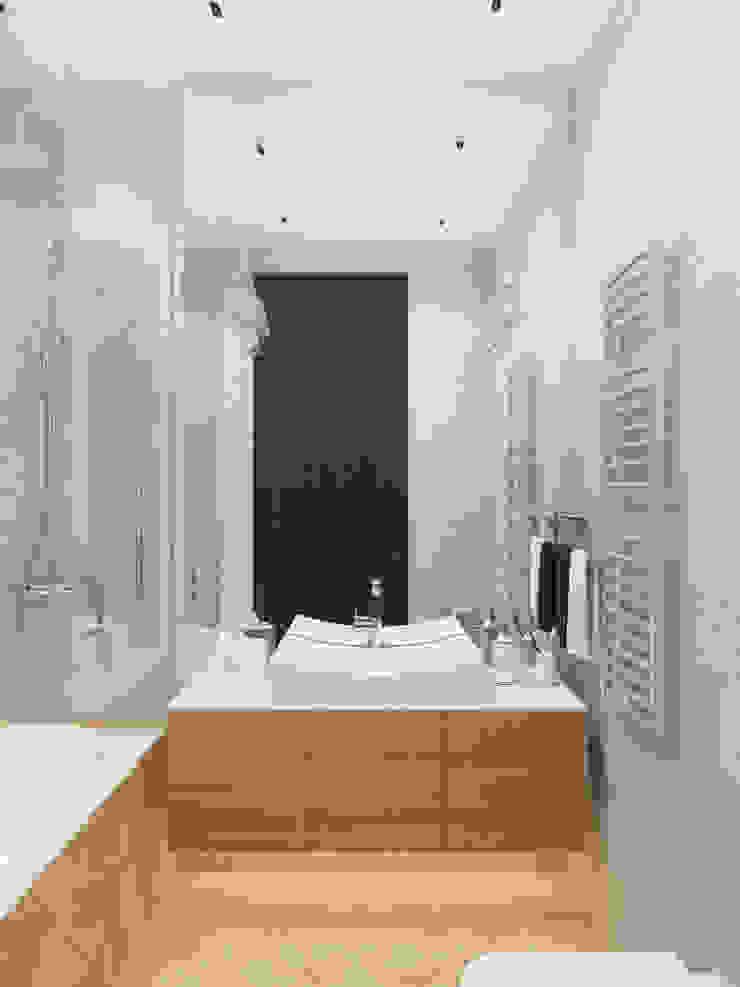 felicita 220 м.кв Ванная комната в эклектичном стиле от Александра Геродотова Эклектичный