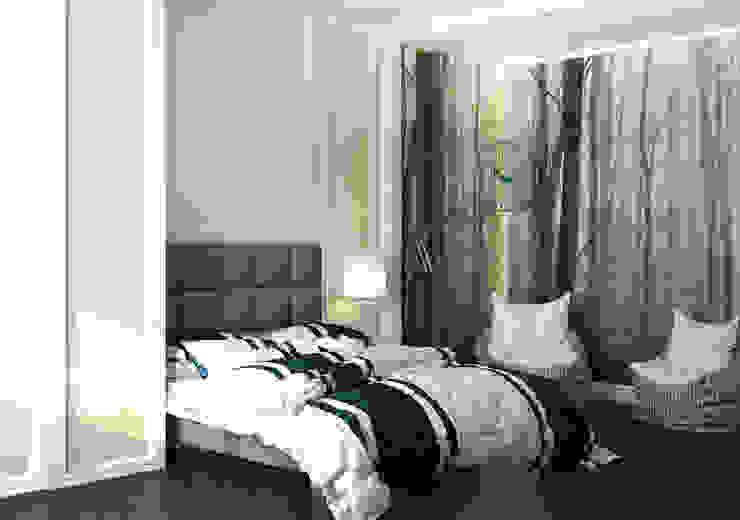 felicita 220 м.кв Спальня в эклектичном стиле от Александра Геродотова Эклектичный