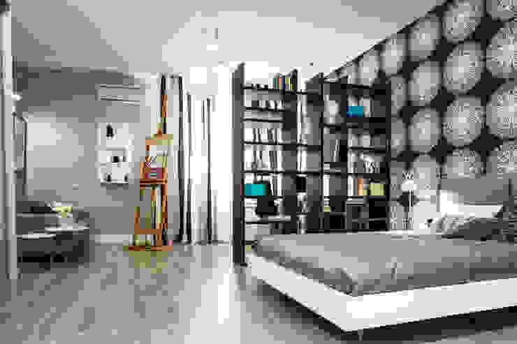 Мужской кабинет Рабочий кабинет в скандинавском стиле от Nika Loiko Design Скандинавский