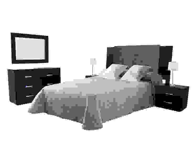 Recámara Siena Fábrica de Muebles el Angel, S.A. de C.V. Dormitorios modernos