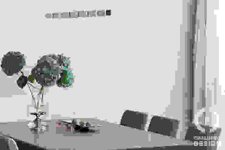 Penthouse Wilanów Nowoczesna jadalnia od Chałupko Design Nowoczesny