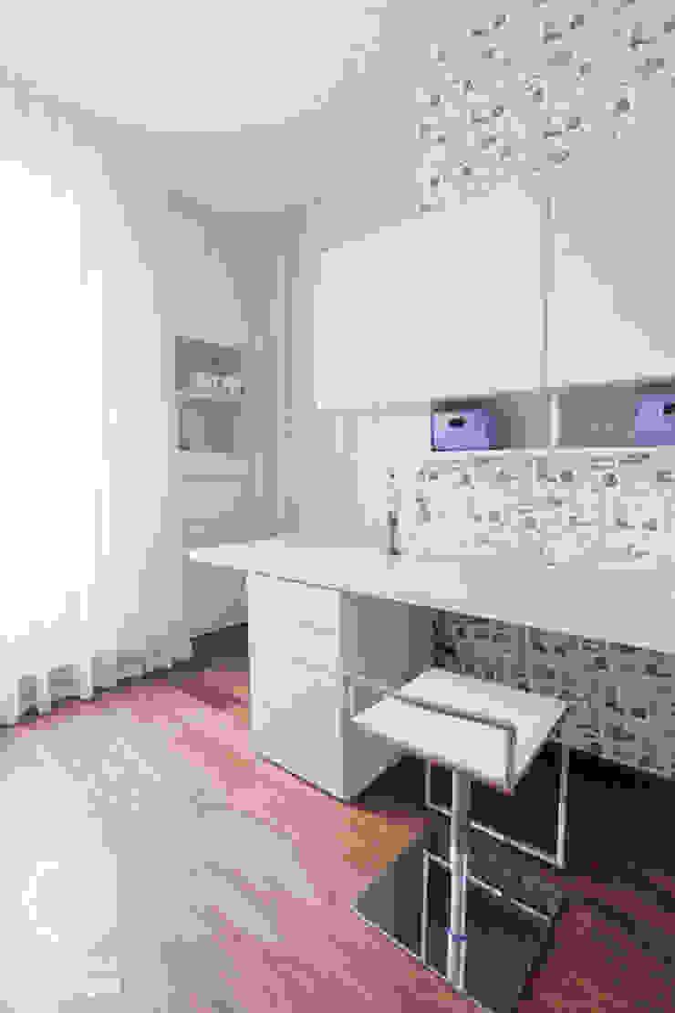 Penthouse Wilanów Nowoczesne domowe biuro i gabinet od Chałupko Design Nowoczesny