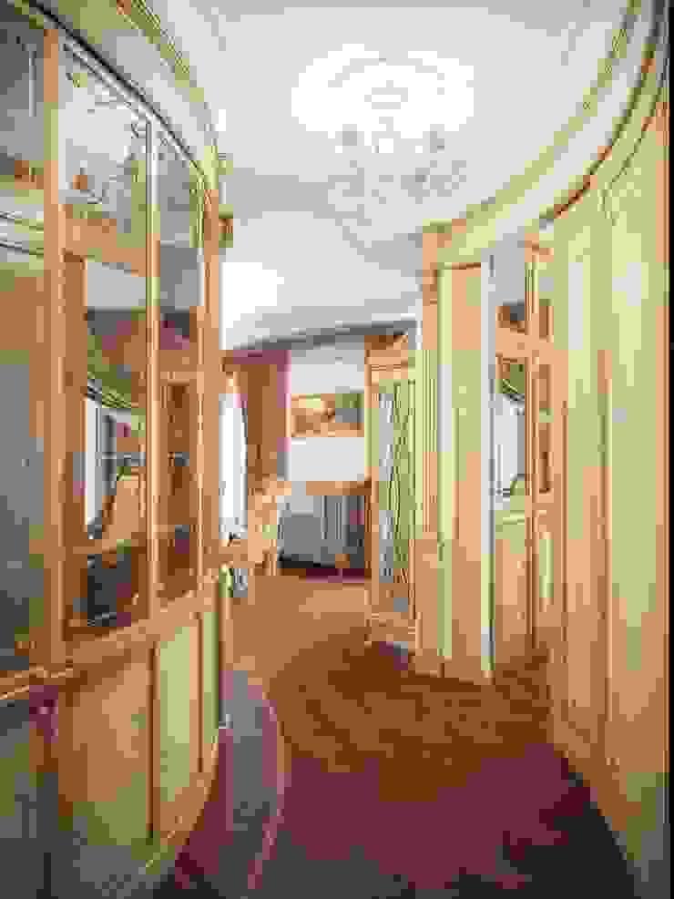 Гранатный переулок дом 6 Коридор, прихожая и лестница в классическом стиле от Premier Dekor Классический