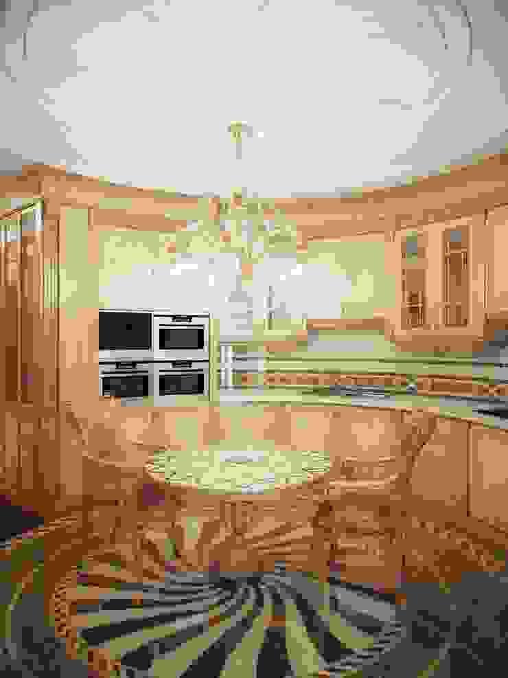 Гранатный переулок дом 6 Кухня в классическом стиле от Premier Dekor Классический