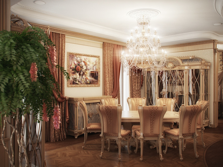 Гранатный переулок дом 6 Столовая комната в классическом стиле от Premier Dekor Классический