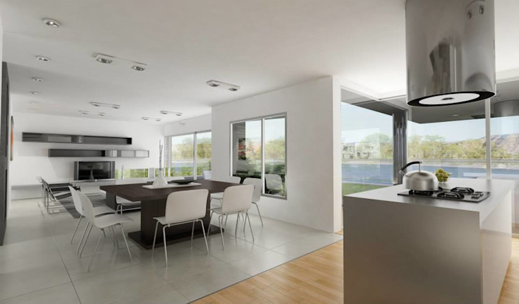 Chazarreta-Tohus-Almendra Modern living room