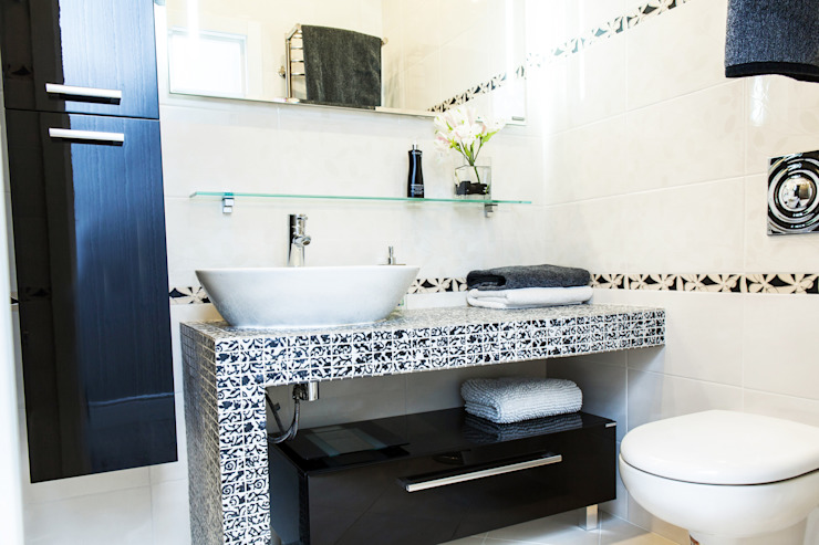 Scandinavian style bathroom by Nika Loiko Design Scandinavian