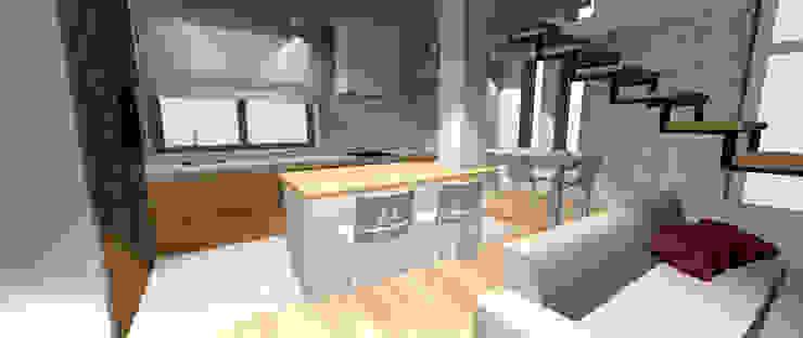 Dom jednorodzinny Zawiercie od StudioDecor Eklektyczny