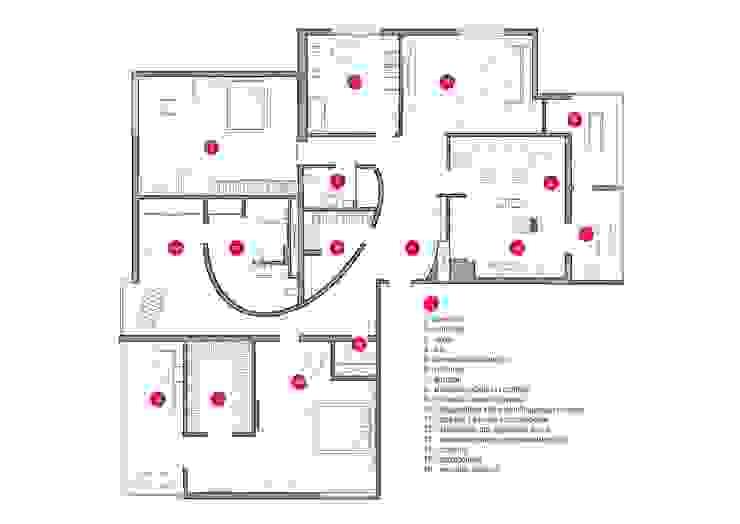 Спецификация помещений и мебелировки от Nika Loiko Design Скандинавский