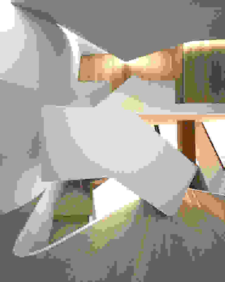 Expression of Sustenance Corredores, halls e escadas modernos por Office of Feeling Architecture, Lda Moderno