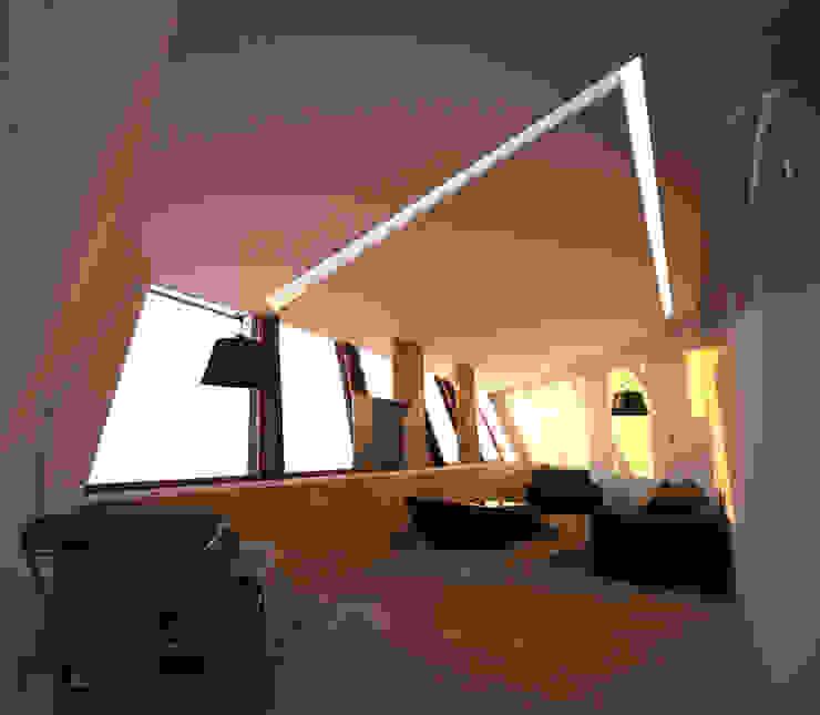 Expression of Sustenance Salas de estar modernas por Office of Feeling Architecture, Lda Moderno