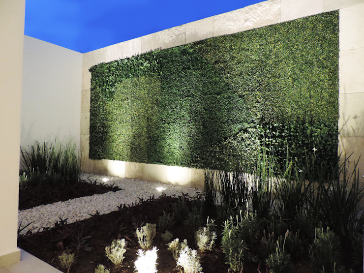Modern style gardens by acosta arquitecto Modern
