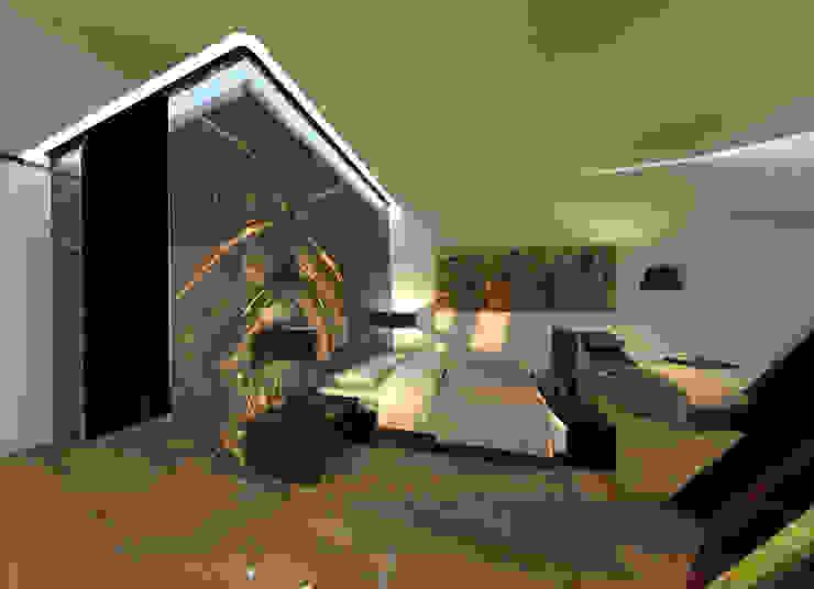 Expression of Sustenance Quartos modernos por Office of Feeling Architecture, Lda Moderno