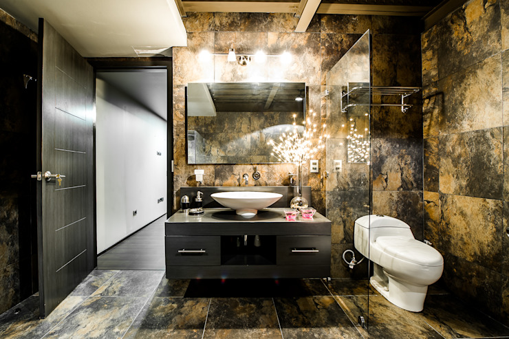 Bathroom تنفيذ Con Contenedores S.A. de C.V.