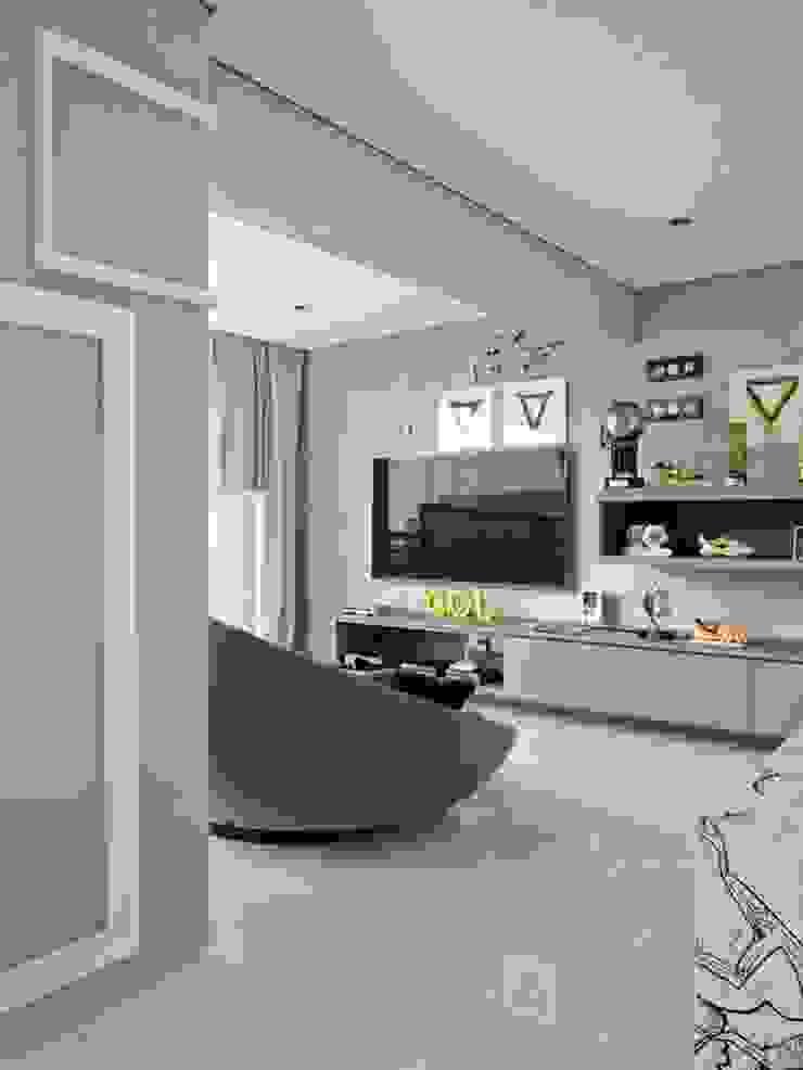 Cobertura Central Park SP Salas de estar modernas por Lovisaro Arquitetura e Design Moderno