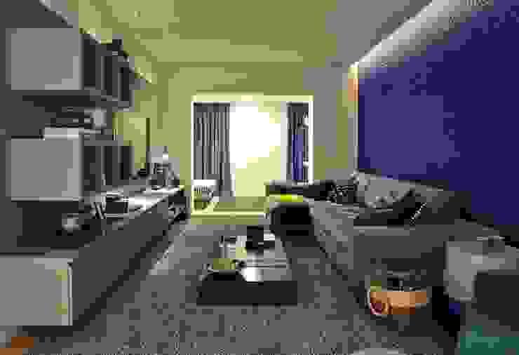 Cobertura Central Park SP Salas multimídia modernas por Lovisaro Arquitetura e Design Moderno