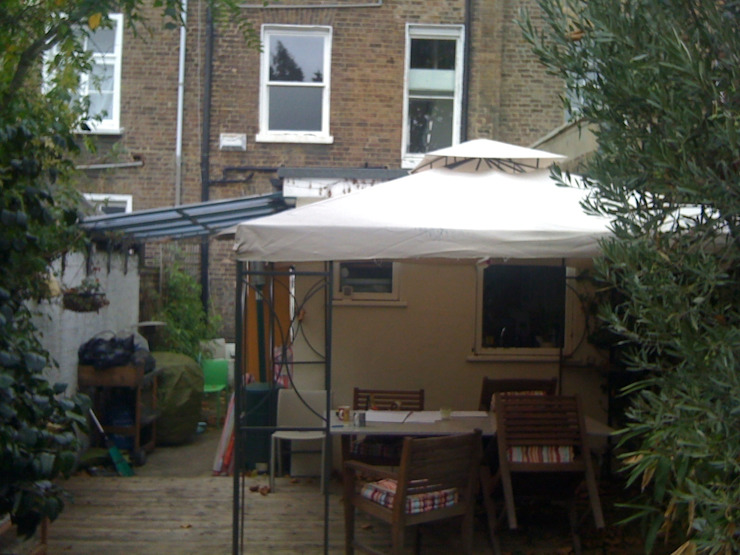 The Rear Extension before:   by Gullaksen Architects,