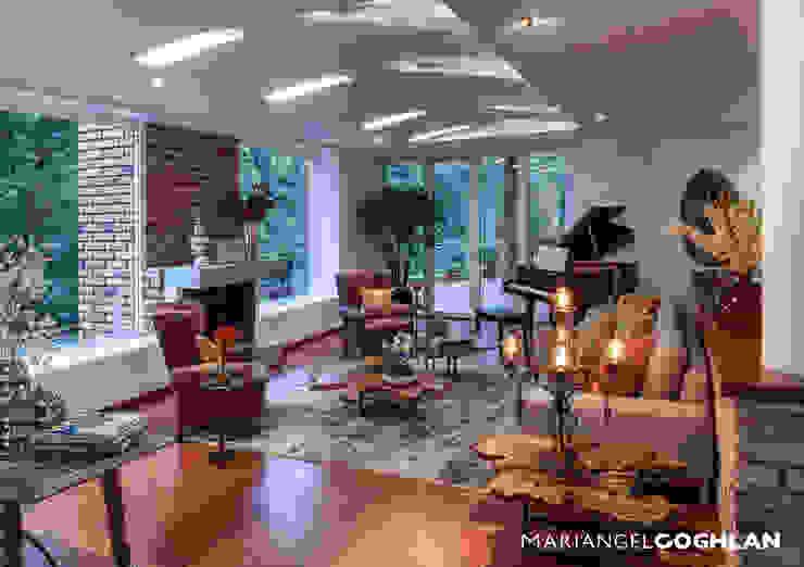 Sala Salones de estilo moderno de MARIANGEL COGHLAN Moderno