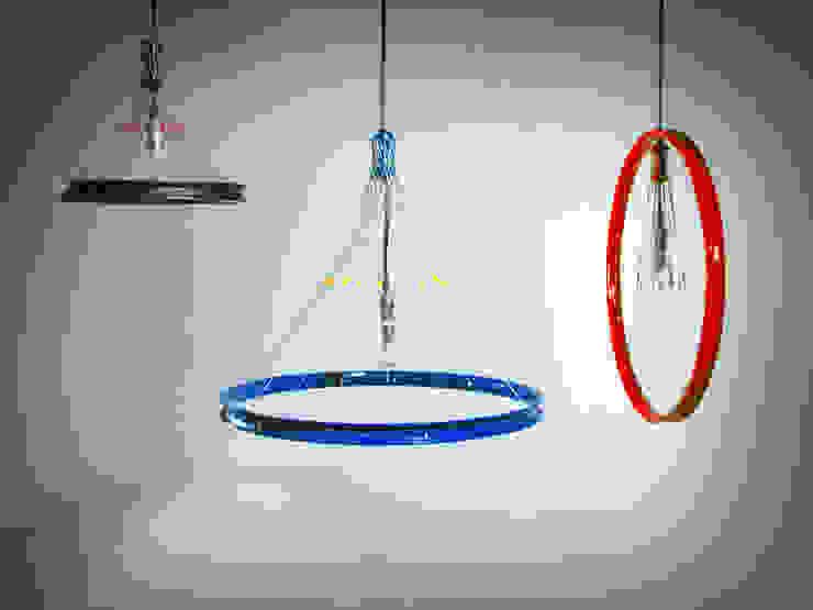 Lámparas R17:  de estilo industrial por Habanero Mobiliario, Industrial