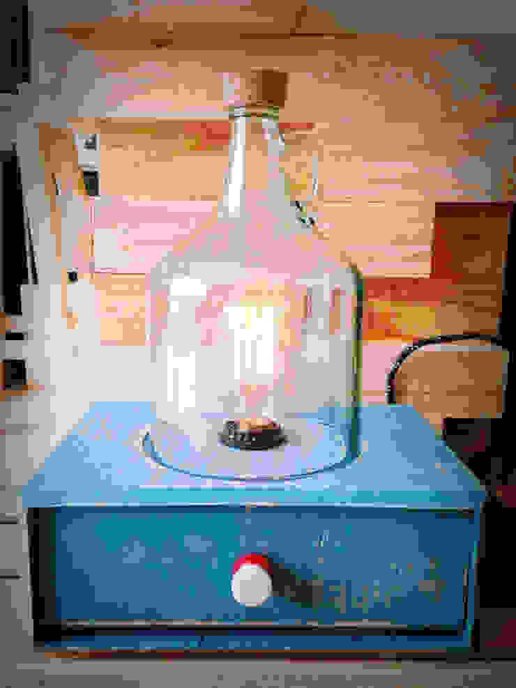 Lámpara Quina:  de estilo industrial por Habanero Mobiliario, Industrial