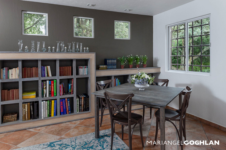 Modern Study Room and Home Office by MARIANGEL COGHLAN Modern